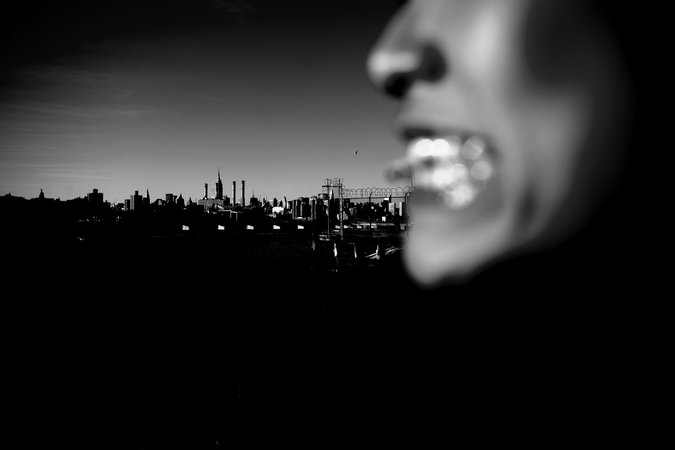 conceptual urban/portrait photography of NYC