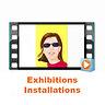 nerosunero exhibitions & installations