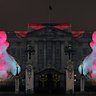 Buckingham Palace projection