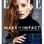 ELLE CANADA JESSICA CHASTAIN