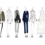 BCBGMAXAZRIA SKETCHES