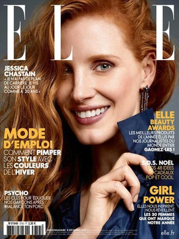 c2a3aa97c7a ELLE CANADA JESSICA CHASTAIN by Anna Katsanis
