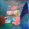 Paintings - mixed media