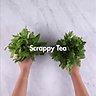 scrappy tea garlic press jess innit