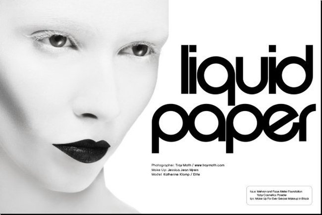 Cheek Magazine - Liquid Paper