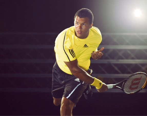 ADIDAS TENNIS CAMPAIGN PLAYER: WILFRIED TSONGA PH: DETLEF SCHNEIDER