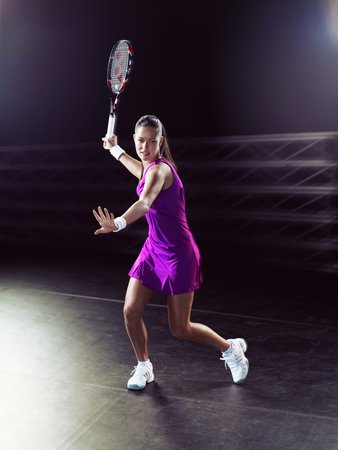 ADIDAS TENNIS CAMPAIGN PLAYER: ANA IVANOVITCH PH: DETLEF SCHNEIDER