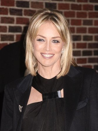 Sharon Stone david letterman