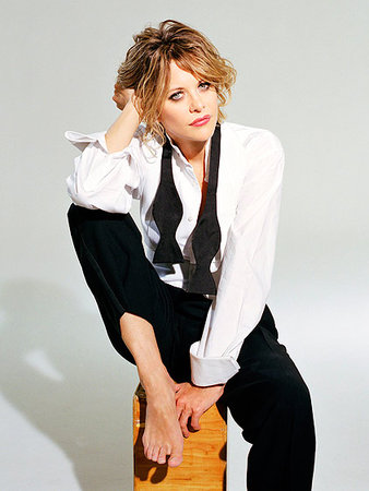 Meg Ryan (seated tux)