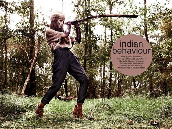 Fart Magazine 12, Indian Behaviour