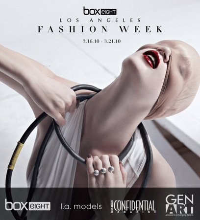 fashion week ad
