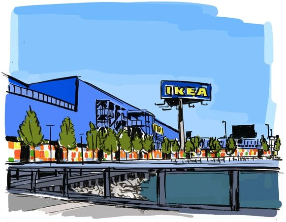 ikea redhook brooklyn