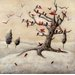 Wintry Bird Tree