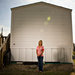 FEMA forces resident out of her trailer before the trailer program ends two years after Hurricane Ike in High Island, Texas.