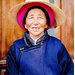 Tibetan woman in hat