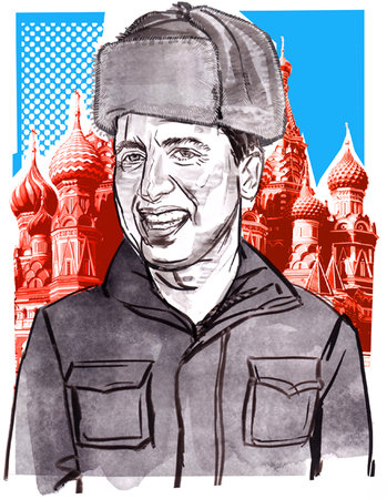 ray romano in russia, the hollywood reporter