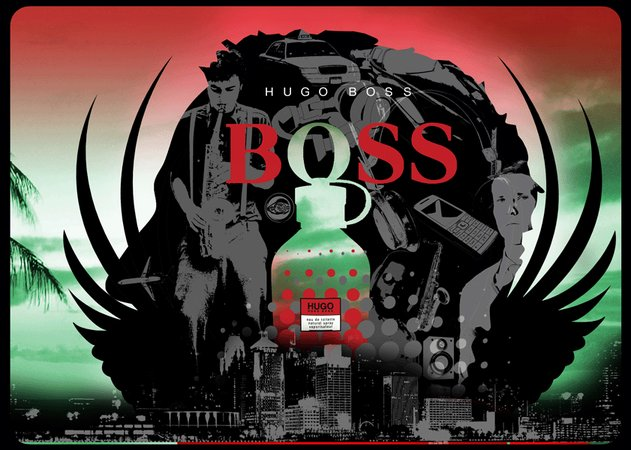 Hugo Boss surreal