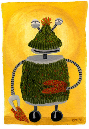 ROTM10 november sweaterrobot