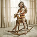rocking horse girl