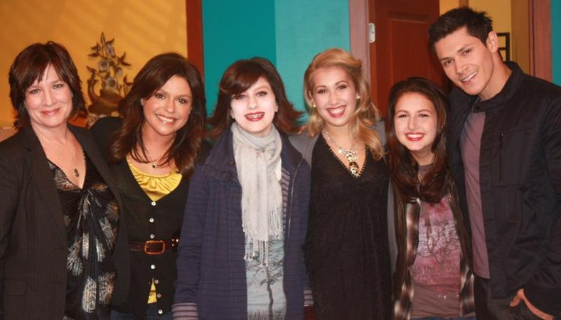 Rachael Ray on set Twilight NM make overs