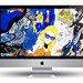 iMac Tiger Beer close up details.