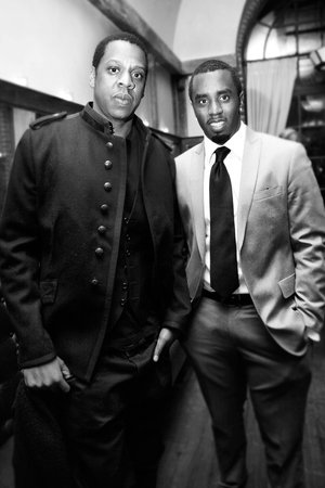 Jay-Z and Sean Combs