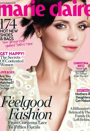 christina ricci marie claire uk
