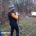 Trying to shoot bow