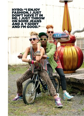 Rolling Stone Magazine May 2012 Fashion Editorial feat. Hyro Da Hero
