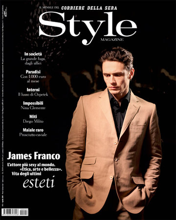 Corriere Della Sera Style magazine