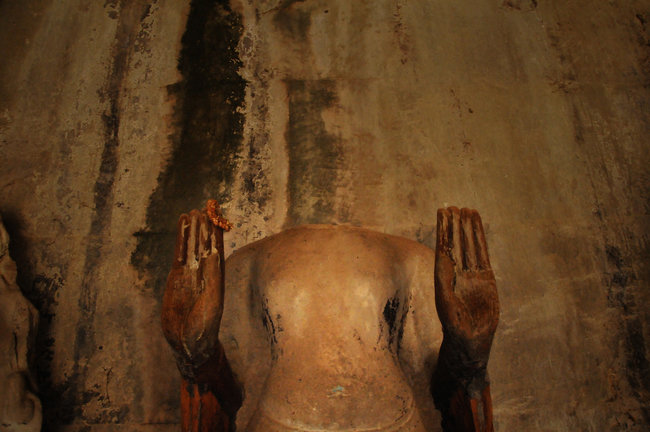 """The Headless Buddha"""