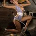 Playboy Playmate Heather Rae Young.  Hot Rod Deluxe Magazine.  Photographer Randy Lorentzen.