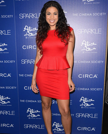 jordin sparks red dress weight loss sparkle premiere
